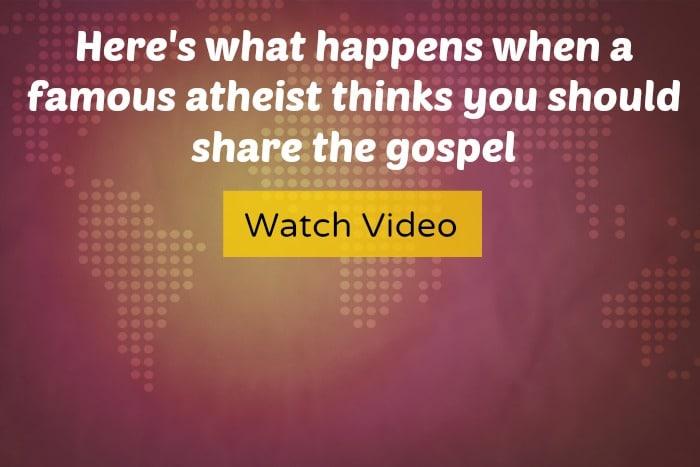 Penn Jillette thinks you should share the gospel