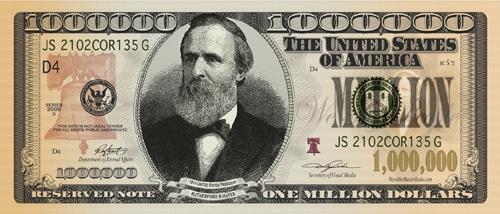 million dollar bill gospel tract