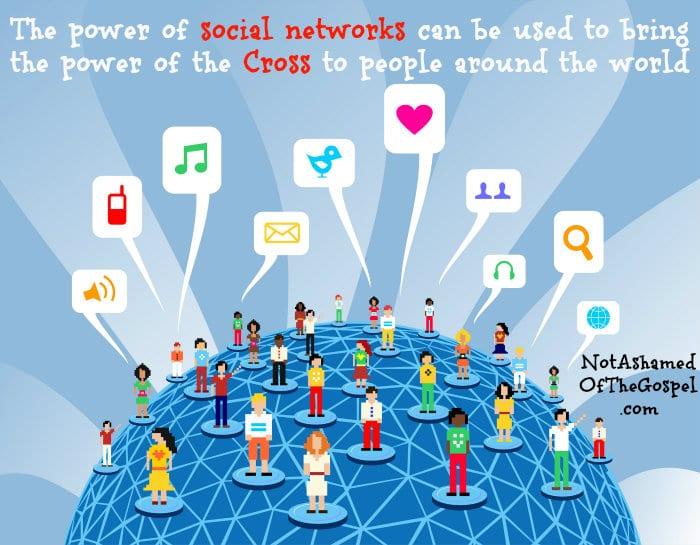 power of social network for Christ