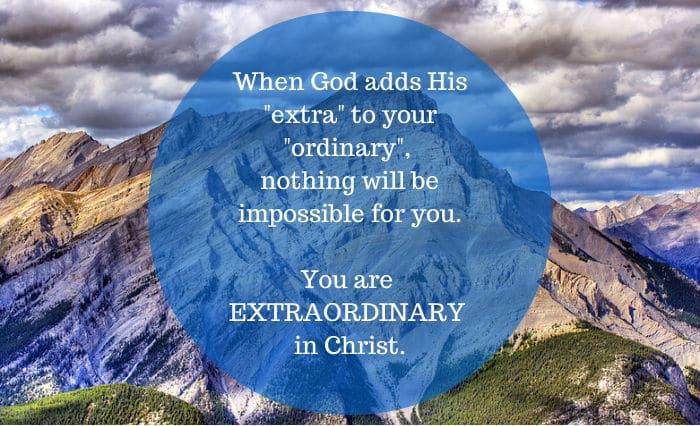 extraordinary in Christ