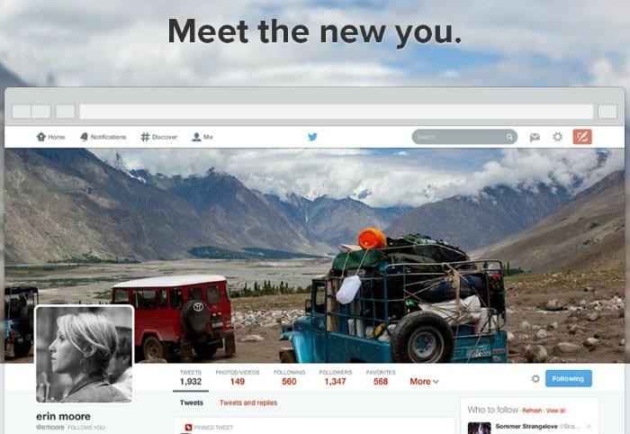 new twitter profiles