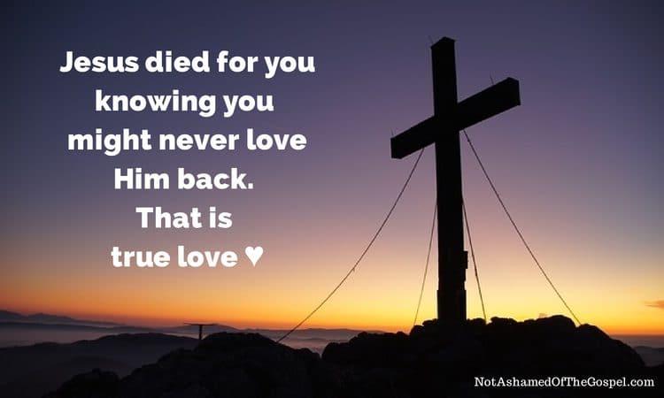 true love believe in God