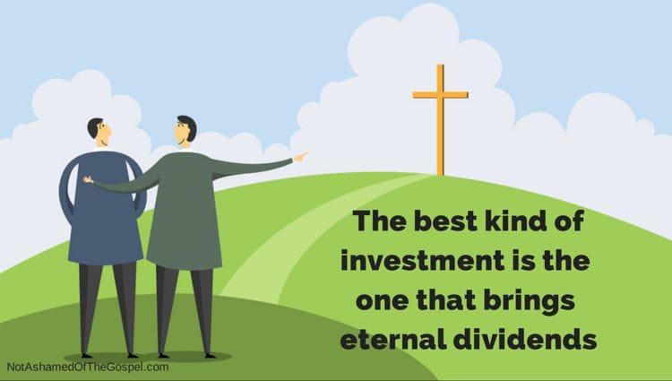 stewardship and eternal dividends