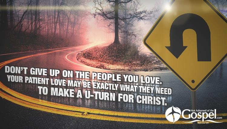 Make a U-turn for Christ