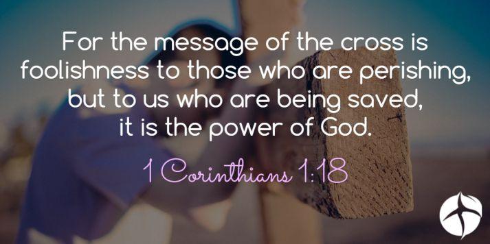 1 Corinthians 1:18