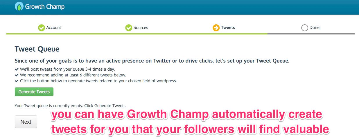 Growth Champ Screen 5